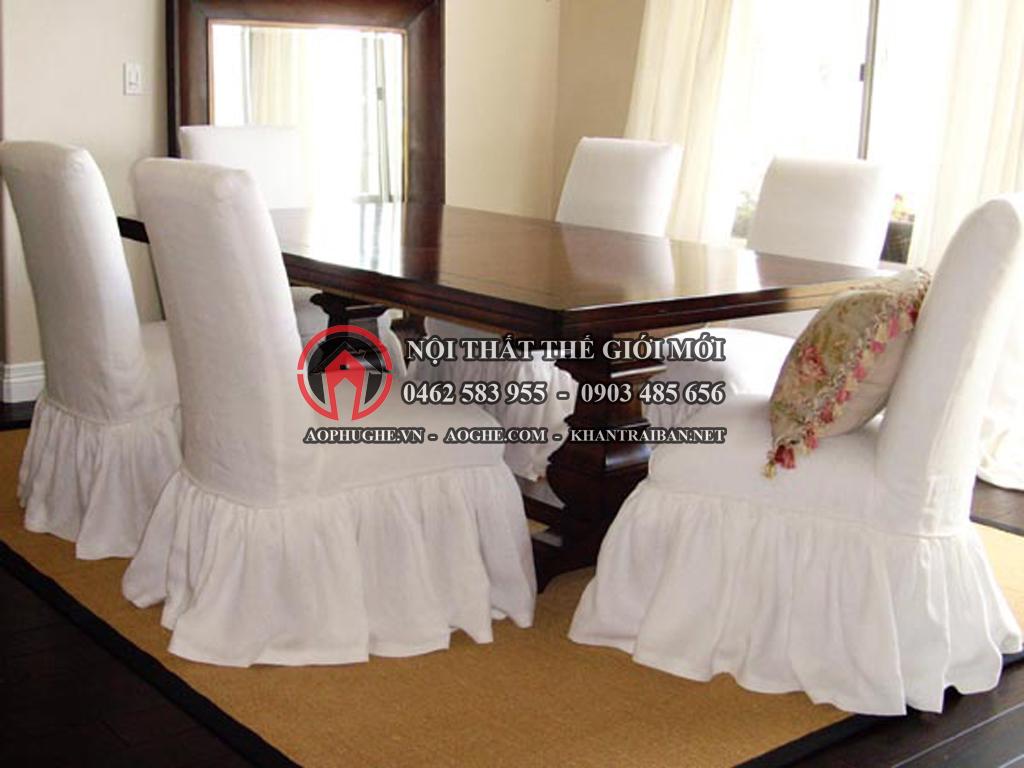 váy ghế nhà hàng